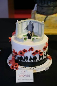Cake International, Remembrance Day cake