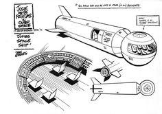 Más tamaños | Josie's spaceship - model sheet | Flickr: ¡Intercambio de fotos!