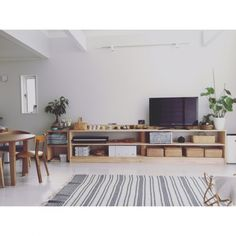 chanさんの、部屋全体,吹き抜け,リビングダイニング,シンプル,ダイニングチェア,シンプルナチュラル,こどもと暮らす,Chair69,のお部屋写真