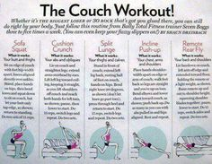1000 images about workouts couch potato on pinterest