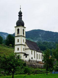 St. Sebastian Kirche, Ramsau bei Berchtesgaden, Deutschlanc