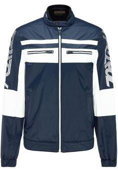 Adidas Jacket, Fashion Online, Athletic, Color Blue, Mandarin Collar, Jackets, Athlete, Deporte