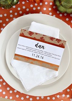6 Easy DIY Thanksgiving Place Card Ideas! | The Homes I Have Made