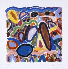 Gillian Ayres Eddie Martinez, Abstract Art Images, Abstract Painters, Tiger Stripes, Seascape Paintings, Natural Forms, Cool Artwork, New Art, Pattern Design
