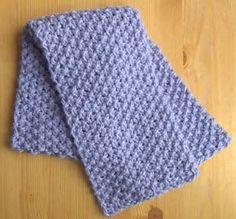Free Knitting Pattern - Scarves: Misti Bulky Scarf