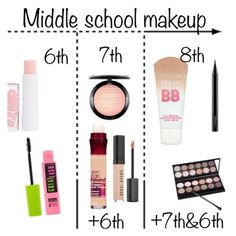 """Middle school makeup"" by christine-germann on Polyvore featuring beauty"