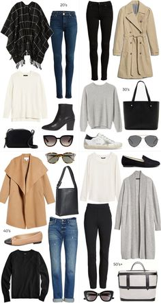 AT ANY AGE COLLAGE // FALL TRAVEL STYLE