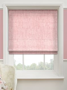 Candyfloss Roman Blind Pink Blinds Grey Shades Curtains With