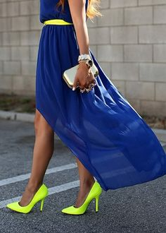Love the color combinations!