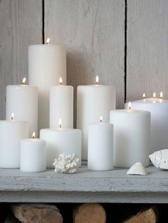 Made in Sweden, these stylish long burning, pure white pillar candles are one of our bestsellers! These stylish long burning, pure white candles are bestsellers! Plain pillar candle sizes range from small pillar candles to very large candles. Large Candles, White Candles, Pillar Candles, Shades Of White, Deco Design, Home And Deco, Candle Lanterns, Pure White, White Light
