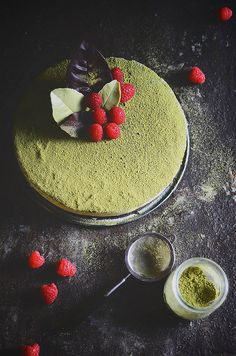 matcha chocolate mousse cake | A Brown Table