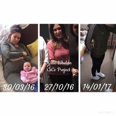 Testimony from Katie Whelan   So with the support of my CeCe girls I've plucked up the courage to share with you my progress... So Far   The 1st photo was taken back in March 2016 before I had even heard about CeCe Project! Clear by the photo I had no intentions of loosing weight instead my intentions were to eat as much as I could as I was breastfeeding my little girl & I thought by always eating I was providing her with all the nutrients & goodness she needed through my milk   Safe to say…