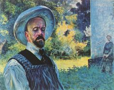 Jacek Malczewski - Self-portrait 1917