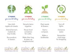 Earth Day Printable Bookmarks - FiveSpotGreenLiving.com