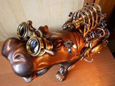 not sure what you could do with a steampunk hippo... but it's pretty cool looking. Agree w last pinner!