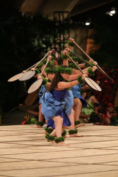 Hula Kahiko at the Merrie Monarch festival in Hilo, 2014.