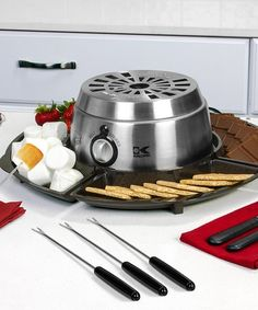 Another great find on #zulily! Stainless Steel 2-in-1 S'mores Maker & Chocolate Melter #zulilyfinds