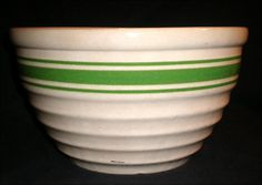 Vintage Ceramic Pottery Mixing Bowl 1950s