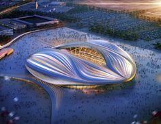 2022 World Cup Modular Stadium in Al Wakrah - AECOM / Zaha Hadid Architects