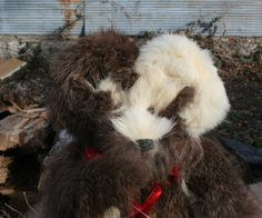 Handcrafted from Vintage Fur Coats by stearnsybears on Etsy, $165.00