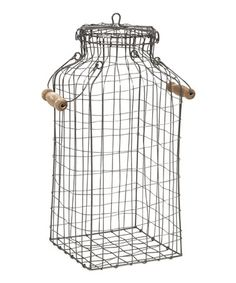 Another great find on #zulily! Sovata Wire Jar by IMAX #zulilyfinds