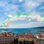 97° Giro d'Italia 2014 ed Esibizione Freccie Tricolore - Trieste-by  Alessandro Braconi