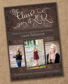 125 Best Graduation Invitations Announcements Images Graduation
