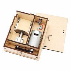 DIY mini tabla vio Saw hecho a mano de la madera Modelo Con La Regla Sale-Banggood.com