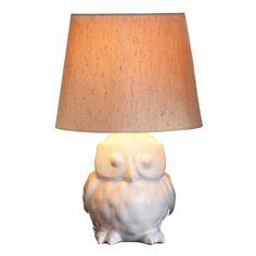 Owlet Ceramic Table Lamp