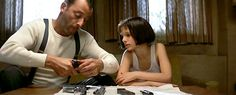 Léon (1994),  110 min  -  Crime | Drama | Thriller,   A professional assassin rescues a teenage girl whose parents were killed in a police raid.    Director: Luc Besson , Writer: Luc Besson,  Stars: Jean Reno, Gary Oldman and Natalie Portman,  Saw this eons back..seems like another lifetime!
