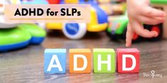 Tips for understanding and helping our speech students with ADHD and difficulty with executive functioning skills.