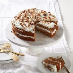 Vegan Carrot Cake with Coconut Cream Frosting - EatingWell.com