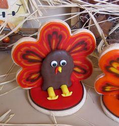 Turkey 3D Cookies