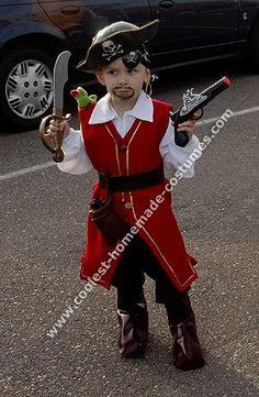 Pirate Costume for Captain blackbeard!