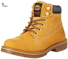 Dockers by Gerli 35AA203, Bottes Classiques Femme, Jaune (Golden Tan 910), 38 EU - Chaussures dockers by gerli (*Partner-Link)