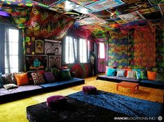 Hippie House Bedroom.
