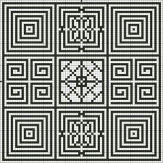 Square+Stitch+Patterns | Free Large Cross Stitch Square Sampler Counted Cross Stitch Pattern