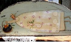 The Decorative Painting Store: Pear Basket Angel Pattern - Terrye French, Newly Added Painting Patterns / e-Patterns