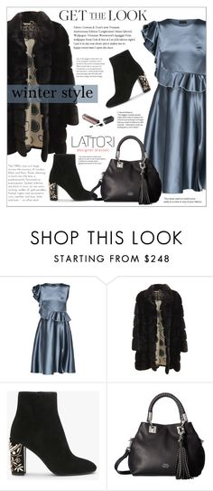 """LATTORI dress"" by water-polo ❤ liked on Polyvore featuring Lattori, Simonetta Ravizza, Vince Camuto, GetTheLook, polyvoreeditorial and lattori"