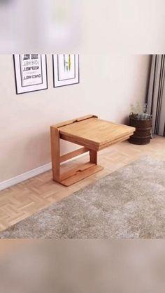 House Furniture Design, Smart Furniture, Space Saving Furniture, Home Room Design, Furniture For Small Spaces, Home Decor Furniture, Home Interior Design, Living Room Designs, Folding Furniture