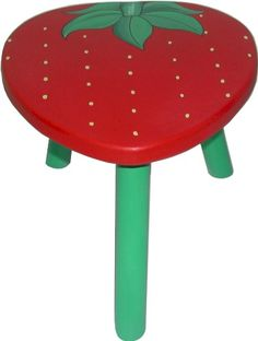 Strawberry Stool