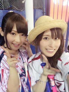 Rei in Jingu Baseball Studium.
