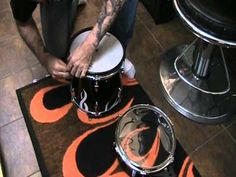 Roland Drums to acoustic Drums