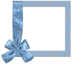 Cute_Blue_PNG_Frame_with_Bow.png page1