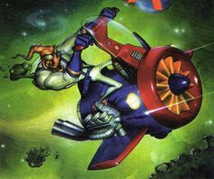 How can Jim breathe in space again??? Eh, screw it, it's Earthworm Jim. Anything goes.