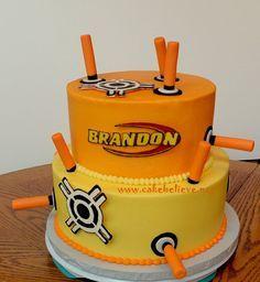 Nerf gun cakes - Google Search