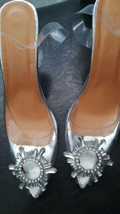 Sky High Heels Transparent Summer Women's Shoes | 4Colordress Womens Summer Shoes, Sky High, Strap Heels, Women's Shoes, High Heels, Take That, Pairs, Legs, Elegant