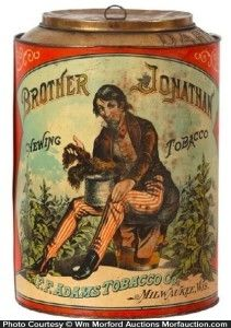 Brother Jonathan Tobacco Bin