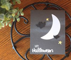 Happy Halloween Card by Laurie Willison for Papertrey Ink (August 2016)