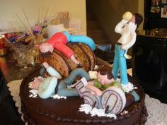 Funny 50th Birthday Cakes | ... cake was made by the wife to the husband who was celebrating his 50th